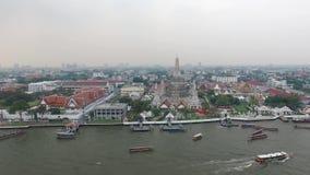 Wat Arun Ratchawararam, stock video footage