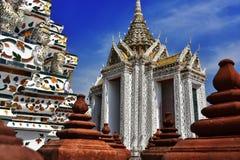 Wat Arun Ratchawararam, a Buddhist temple in Bangkok, Thailand Stock Images