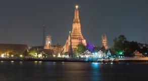 Wat Arun Ratchawararam Ratchawaramahawihan ή Wat Arun (ναός της Dawn) Στοκ εικόνα με δικαίωμα ελεύθερης χρήσης