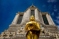 Wat Arun Ratchawararam Ratchawaramahawihan Zdjęcia Stock