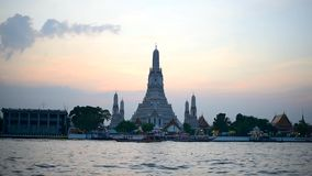 Wat Arun Ratchawararam Ratchawaramahawihan stock footage