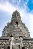 Wat Arun Ratchawararam Ratchawaramahawihan ou Wat Arun est un temple bouddhiste à Bangkok, Thaïlande image libre de droits