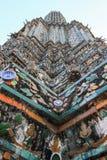 Wat Arun Ratchawararam Ratchawaramahawihan(Temple of Dawn) is a Buddhist temple  in Bangkok , Thailand. One  of the  most stunning temples in Bangkok Royalty Free Stock Photos
