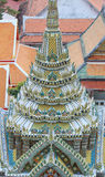 Wat Arun Ratchawararam Ratchawaramahawihan (Temple of Dawn) est un temple bouddhiste à Bangkok, Thaïlande Photos libres de droits