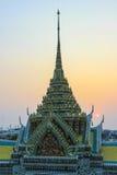 Wat Arun Ratchawararam Ratchawaramahawihan (Temple of Dawn) est un temple bouddhiste à Bangkok, Thaïlande Photos stock