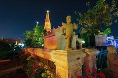 Wat Arun Ratchawararam Ratchawaramahawihan (Temple of Dawn) est un temple bouddhiste à Bangkok, Thaïlande photographie stock