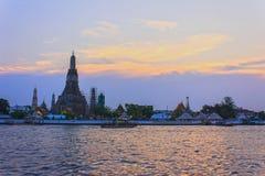 Wat Arun Ratchawararam Ratchawaramahawihan (Wat Arun) Stockbilder