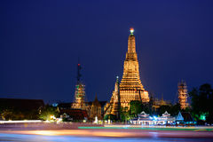 Wat Arun Ratchawararam Ratchawaramahawihan or Wat Arun (Temple of Dawn). Bangkok, Thailand Royalty Free Stock Image