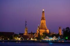 Wat Arun Ratchawararam Ratchawaramahawihan or Wat Arun (Temple of Dawn). Bangkok, Thailand Royalty Free Stock Photos