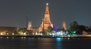 Wat Arun Ratchawararam Ratchawaramahawihan or Wat Arun (Temple of Dawn) Royalty Free Stock Image