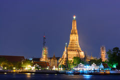 Wat Arun Ratchawararam Ratchawaramahawihan or Wat Arun (Temple of Dawn) Stock Photos