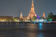 Wat Arun Ratchawararam Ratchawaramahawihan or Wat Arun (Temple of Dawn). Bangkok, Thailand Stock Photography