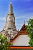 Wat Arun Ratchawararam, un tempio buddista a Bangkok, Tailandia Fotografie Stock