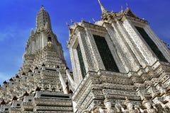 Wat Arun Ratchawararam, un tempio buddista a Bangkok, Tailandia Fotografia Stock