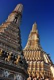 Wat Arun Ratchawararam, un tempio buddista a Bangkok, Tailandia Immagine Stock