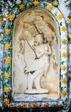 Wat Arun Relief. Fine relief work at wat arun Royalty Free Stock Image
