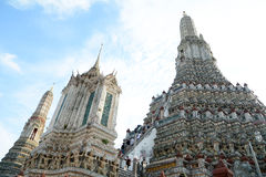 Wat Arun Stupa Immagini Stock Libere da Diritti