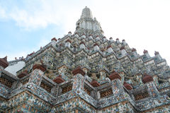 Wat arun stupa Royalty Free Stock Photo