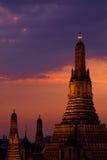 Wat Arun Sunset - Bangkok, Thailand Royalty Free Stock Images