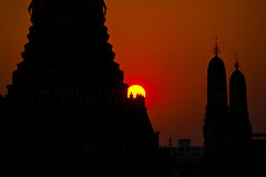 Wat Arun at Sunset Stock Photo