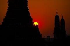 Wat Arun at Sunset Stock Photo