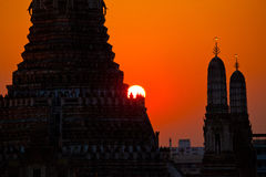 Wat Arun at Sunset Royalty Free Stock Images