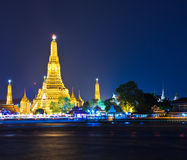Wat Arun in the sunset Royalty Free Stock Images