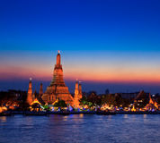Wat Arun in the sunset Stock Photo