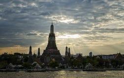 Wat Arun at Sunset Royalty Free Stock Photo