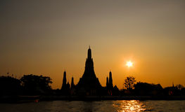 Wat Arun Tempel Lizenzfreie Stockfotos