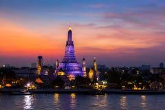 Wat Arun tempel Arkivbilder