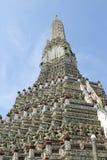 Wat Arun tempel, Bangkok Arkivfoton