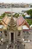 Wat Arun Tempel in Bangkok Lizenzfreie Stockfotos