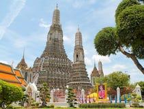 Wat-arun Tempel, buddhistischer Tempel in Bangkok lizenzfreies stockfoto