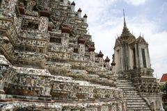 Wat arun Tempel der Dämmerung Stockbild