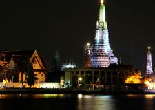 Wat Arun (Tempel van Dawn), Bangkok, Thailand Royalty-vrije Stock Afbeelding