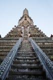 Wat Arun, tempiale dell'alba a Bangkok Fotografie Stock