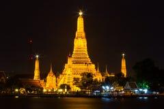 Wat Arun, tempio a Bangkok Immagine Stock Libera da Diritti