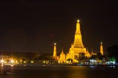 Wat Arun, tempio a Bangkok, Tailandia Fotografia Stock