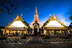 Wat Arun Temple à Bangkok en Thaïlande Images libres de droits