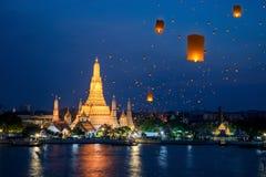 Wat Arun Temple Fotos de archivo libres de regalías