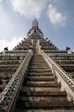 Wat Arun Temple. Phra Prang pagoda at Wat Arun temple in Bangkok, Thailand Stock Images