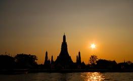 Wat Arun temple Royalty Free Stock Photos