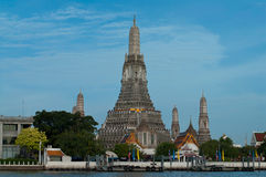 Wat Arun temple Royalty Free Stock Images
