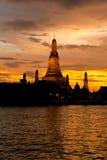 Wat Arun Temple #3 Fotos de Stock Royalty Free