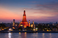 Wat Arun Temple stock foto