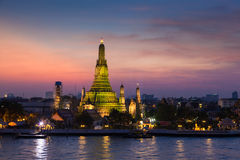Wat Arun Temple Foto de Stock Royalty Free