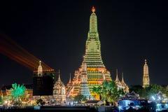 Wat Arun Temple Images libres de droits