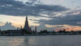 Wat Arun Temple video estoque