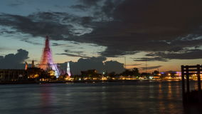 Wat Arun Temple stock footage